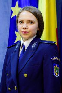Subinspector de poliţie Izabela MARIN