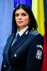 Comisar-şef de poliţie Iuliana TEODORESCU