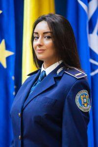 Agent de poliție Cătălina NIȚĂ