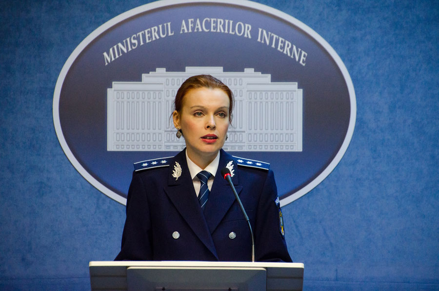 Comisar şef de poliţie Monica Dajbog
